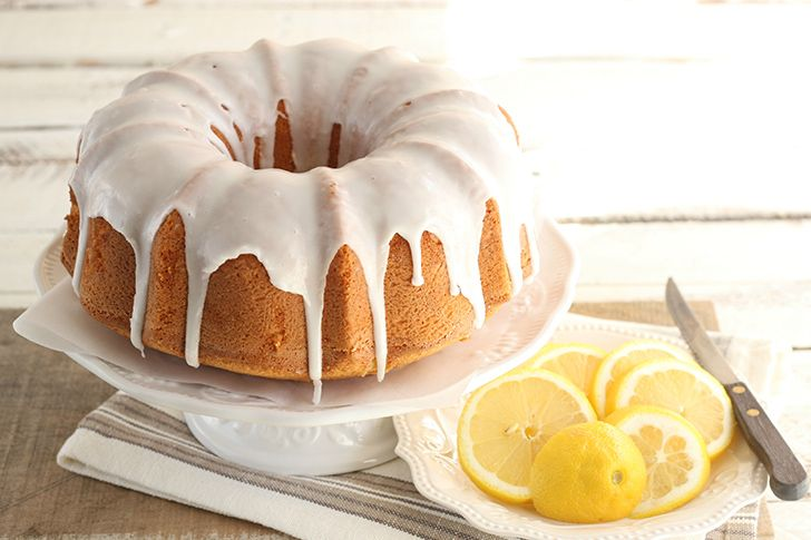 Pound cake got its name from its recipe.