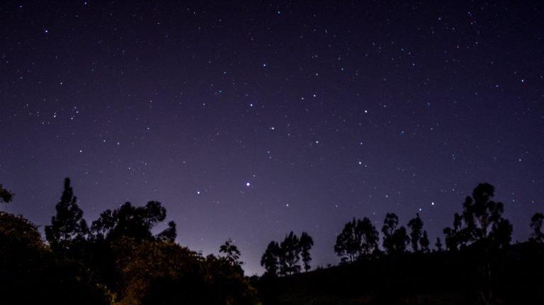 Sky full of stars.