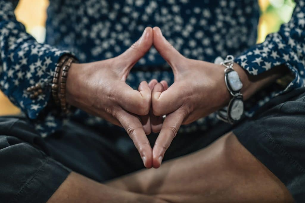 Kalesvara or Mind Calming Mudra for Self-Healing and Better Control of Thoughts and Emotions